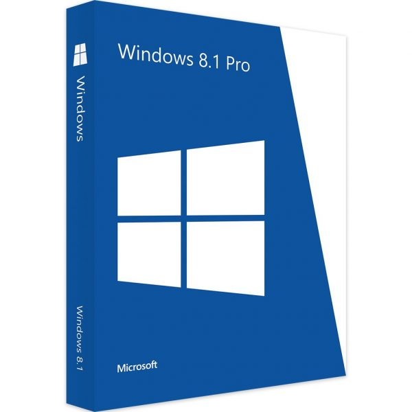 Windows 8.1 Professional License Key – 1 PC