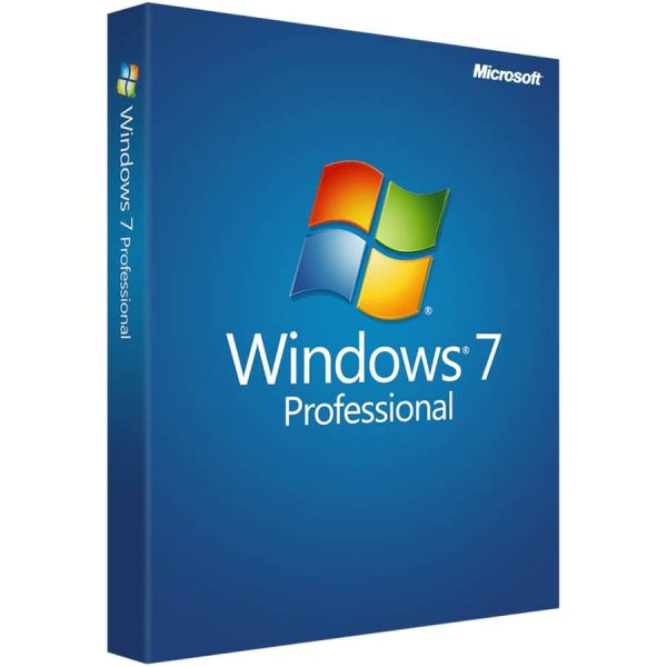 Windows 7 Professional Product Key 32bit & 64bit for 1 PC