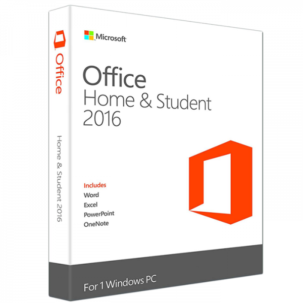 Microsoft Office Home & Student 2016 para Windows – 1 PC