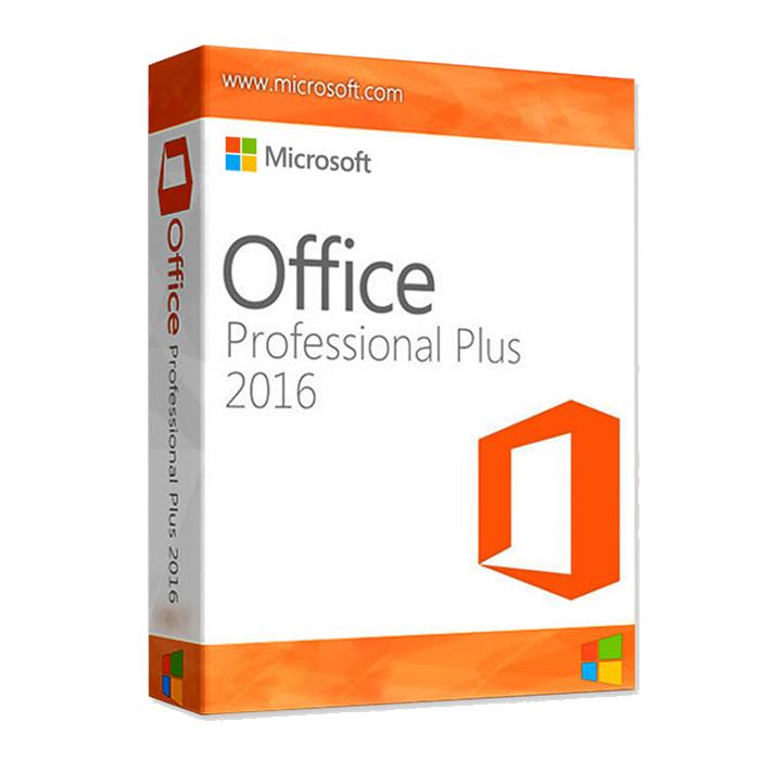 Microsoft Office Professional Plus 2016 For Windows - 1 PC