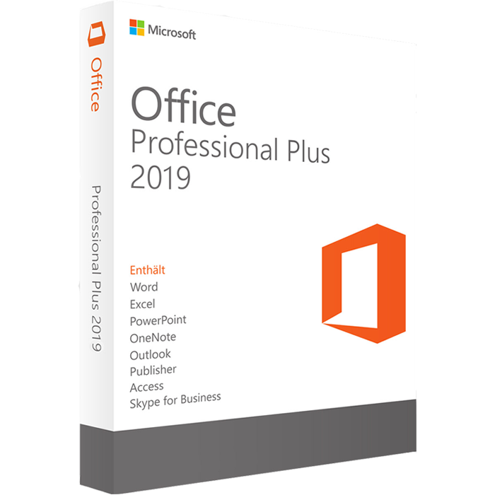Microsoft Office Professional Plus 2019 License Keys