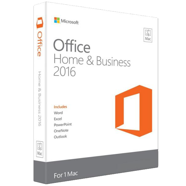 Chiave di licenza di Microsoft Office Home and Business 2016 per MAC – 1 PC