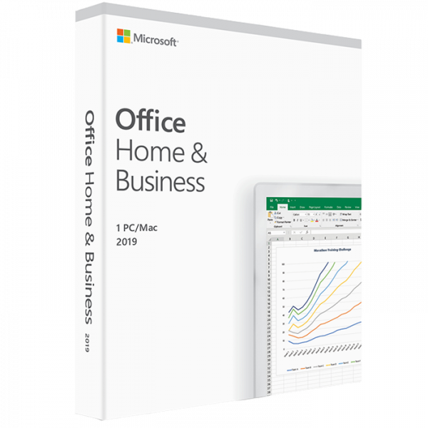 Licentiesleutel voor Microsoft Office Home en Business 2019 voor MAC/Windows – 1 pc