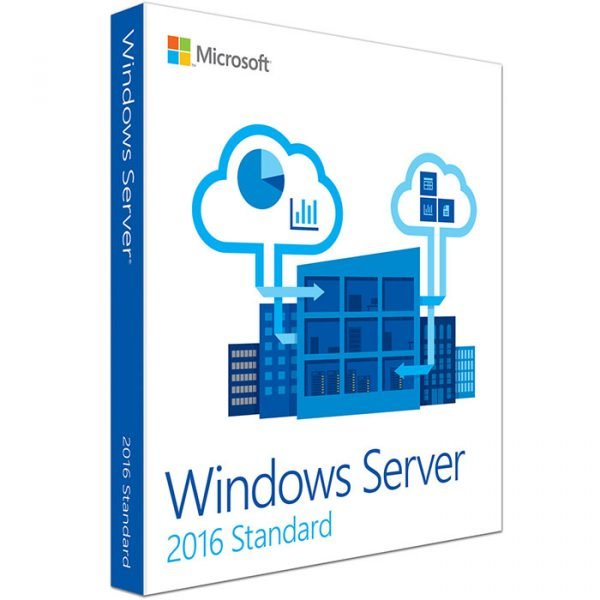 Clave de licencia original estándar de Windows Server 2016